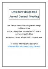 Village Hall Annual General Meeting