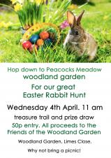 Easter Rabbit Hunt - 4th April