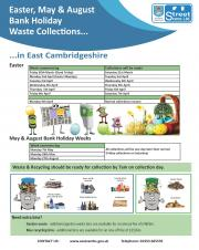 Bank Holiday Waste Collections