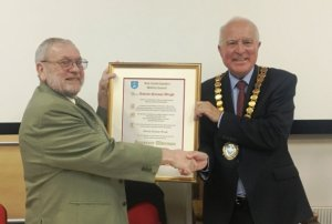 East Cambs First Honorary Alderman