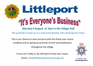 "Littleport - ""It's Everyone's Business"""